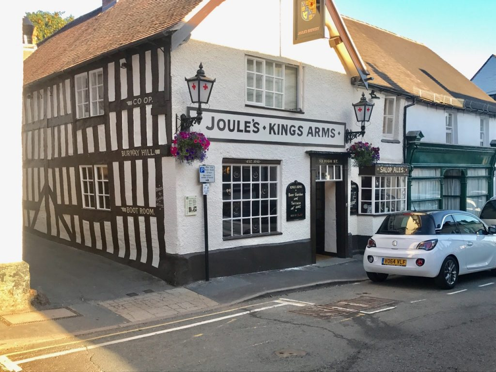 Outside the Kings Arms